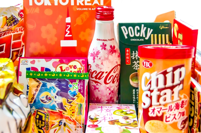 Tokyo Treat subscription Box April 2017 – review